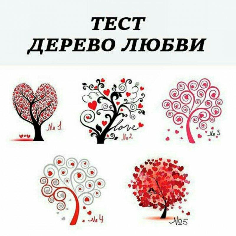 психологический тест деревья с картинками гордый